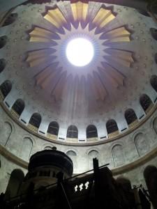 Die heiligen Kuppeln Jerusalems
