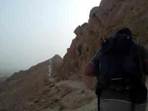 Wandern im Makhtesh Ramon