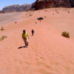55 Wandern auf Dünen