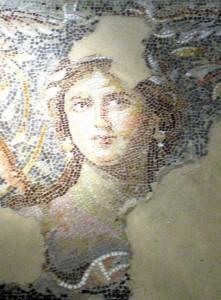 Mosaik in Sepphoris: Die Mona Lisa Galiläas