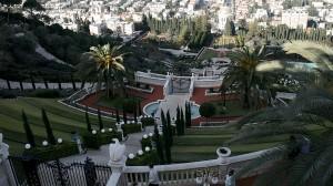 Der Garten der Ba'hai in Haifa