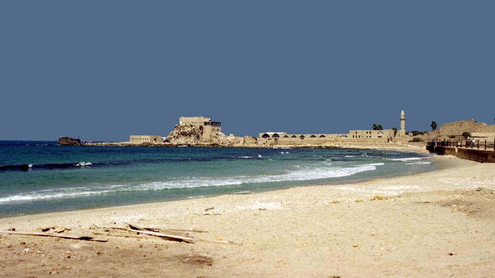 Strand bei Caesarea