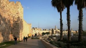 Stadtmauer der Altstadt Jerusalems