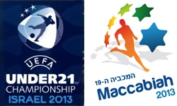 Maccabiah 2013 & UEFA U21 2013 in Israel