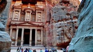 Petra in Jordanien - Die Felsenstadt