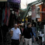 Spaziergang durch den Shuk in Jerusalem