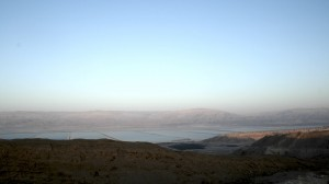 Abendstimmung über dem Toten Meer